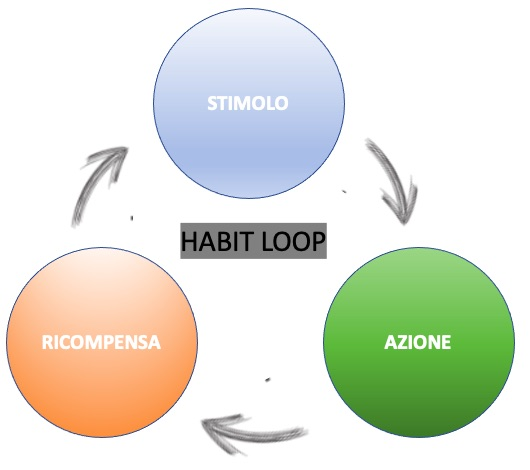 habit loop in italiano